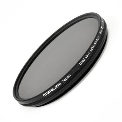 Нейтрально-серый фильтр переменной плотности Marumi DHG Vari ND2-ND400 62mm