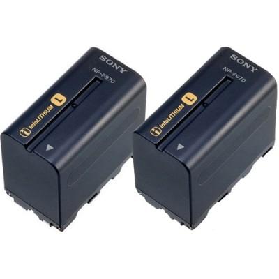 Комплект аккумуляторов SONY 2NP-F970/B