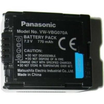 Аккумулятор Panasonic VW-VBG070 / VW-VBG070A