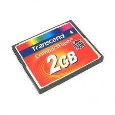 Карта памяти Transcend Compact Flash 2GB 133x TS2GCF133