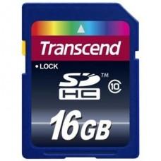 Карта памяти Transcend SDHC 16GB class 10 200x (TS16GSDHC10)