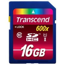 Карта памяти Transcend SDHC 16GB class 10 600x UHS-I (Ultimate) (TS16GSDHC10U1)