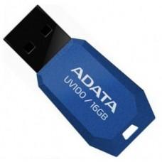 Флеш накопитель ADATA UV100 16GB Blue (AUV100-16G-RBL)