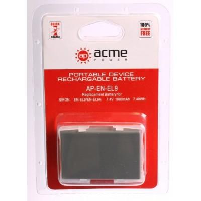 Аккумулятор AcmePower AP-EN-EL9
