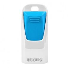 Флеш накопитель 8GB SanDisk CZ51W Cruzer Edge, USB 2.0, White/Blue (SDCZ51W-008G-B35B)