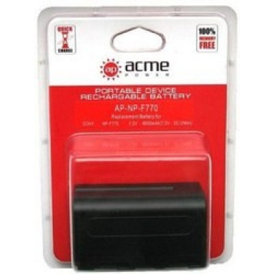 Аккумулятор AcmePower AP-NP-F770 NP-F750