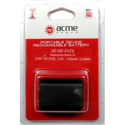 Аккумулятор AcmePower AP-NP-FH70 NP-FH60