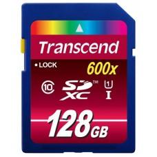 Карта памяти Transcend SDXC 128GB Class 10 SD3.0 Ultra UHS-I (TS128GSDXC10U1)