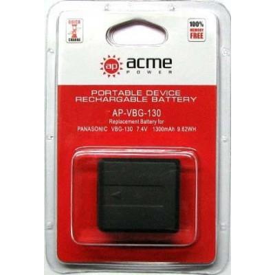 Аккумулятор AcmePower AP-VW-VBG130 / VW-VBG130-K / VW-VBG130E-K