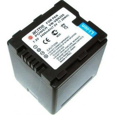Аккумулятор AcmePower AP-VW-VBN260 / VW-VBN260E / VW-VBN260E-K