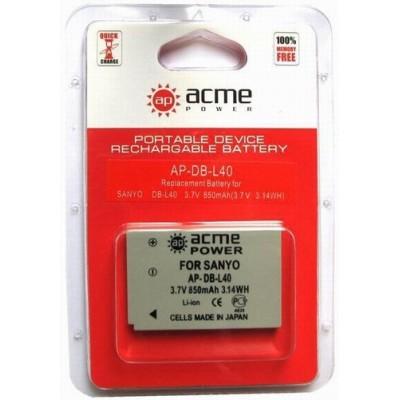 Аккумулятор AcmePower AP-DB-L40