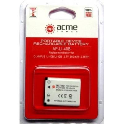Аккумулятор AcmePower AP-LI-40B / LI-42B