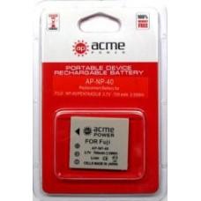 Аккумулятор AcmePower (Fujifilm) AP-NP-40 / D-Li95