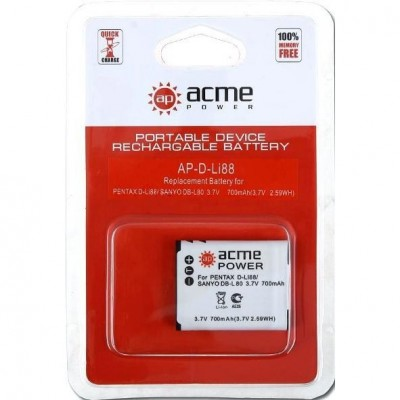 Аккумулятор AcmePower AP-D-Li88