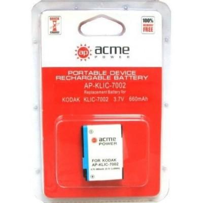 Аккумулятор AcmePower AP-KLIC-7002