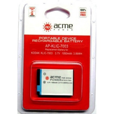 Аккумулятор AcmePower AP-KLIC-7003