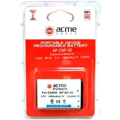 Аккумулятор AcmePower AP-Casio NP-90