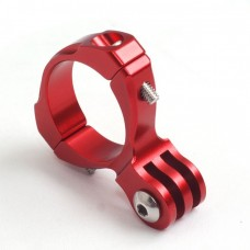 Крепление Zebra для камер GoPro компактное алюминиевое красное
