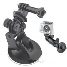 Крепление-присоска Zebra для камер GoPro регулируемое с винтом