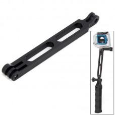 Секция удлиняющая Zebra для тактической ручки для камер GoPro алюминиевая черная