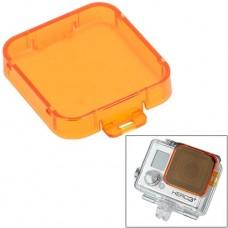Фильтр Zebra для камеры GoPro для съемки под водой оранжевый
