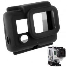 Чехол защитный Zebra на бокс для камеры GoPro силиконовый черный