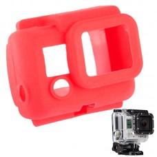 Чехол защитный на бокс Zebra для камеры GoPro силиконовый красный