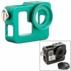 Бокс защитный Zebra для камеры GoPro алюминиевый зеленый