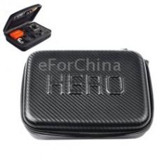 Кейс Zebra HERO для камеры GoPro карбоновое волокно малый