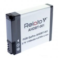 Аккумулятор для экшн-камеры Relato AHDBT-001