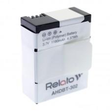 Аккумулятор для экшн-камеры Relato AHDBT-302