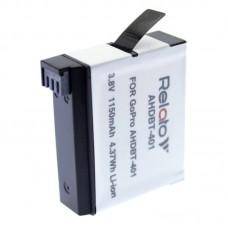 Аккумулятор для экшн-камеры Relato AHDBT-401