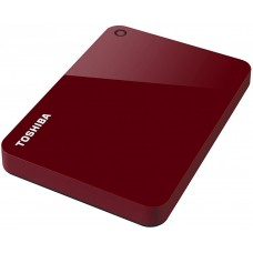 Внешний жесткий диск 1TB Toshiba Canvio Advance Red (HDTC910ER3AA)