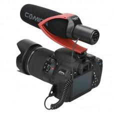 Накамерный микрофон Commlite Comica CVM-V30 Red