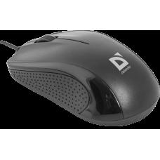 Проводная оптическая мышь Defender Optimum MB-160 черный