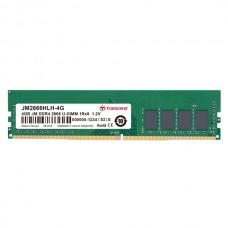 Оперативная память Transcend 4GB U-DIMM DDR4, 2666 МГц, 1Rx8, 1.2V (JM2666HLH-4G)