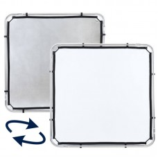Полотно Lastolite SkyRapid LR81131R (Серебро/белый, 110x110 см)