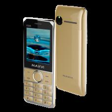 Телефон Maxvi X300 Gold