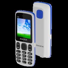 Телефон Maxvi C22 White/Blue