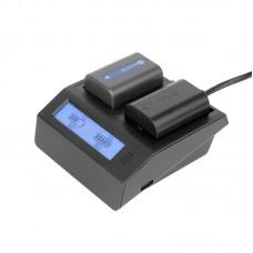 Зарядное устройство GreenBean NPF для Sony NP-F970 и Canon LP-E6