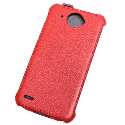 Чехол Flip Case для Lenovo S920 красный