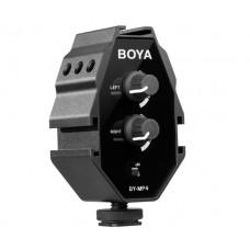 Двухканальный микшер Boya BY-MP4