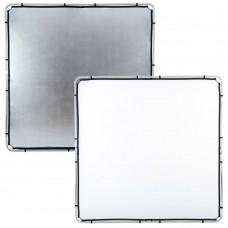 Отражатель Lastolite LR82231R Skylite Rapid Fabric 2 x 2 м серебро/белый