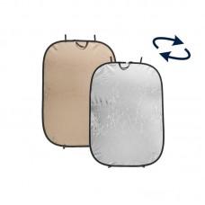 Лайт-диск Lastolite LR7236 мягкое золото/серебро, 120x180 см