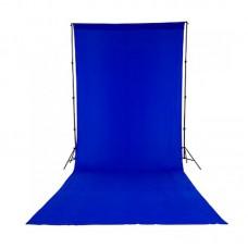 Фон тканевый Lastolite LC5888 синий хромакей 3х7 м