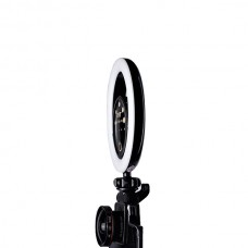 Кольцевая селфи-лампа FST SML-022 (Черная)