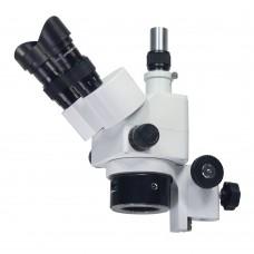 Оптическая головка МС-4-ZOOM (тринокуляр) с фокусировочным механизмом на штатив