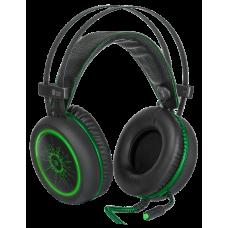 Игровая гарнитура Defender DeadFire G-530D черный/зеленый 2.2 м