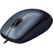 Проводная мышь Logitech M100 Optical Mouse Grey (910-005003)