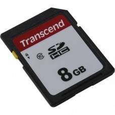 Карта памяти SD 8GB Transcend 300S Class 10 (TS8GSDC300S)